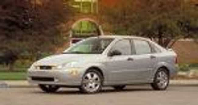 2002 Ford Focus Sedan is listed (or ranked) 4 on the list The Best Ford Focuses of All Time