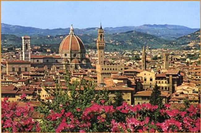 Florence is listed (or ranked) 1 on the list The Most Magical Cities in the World