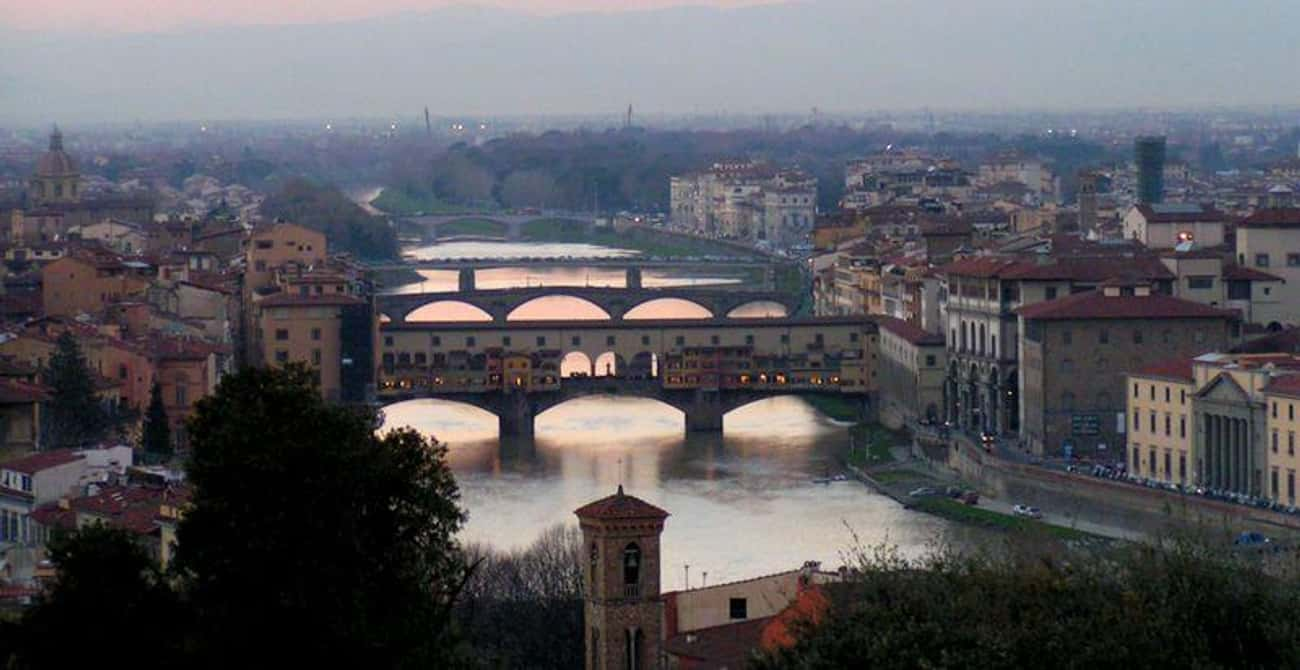 Florence, Italy is listed (or ranked) 2 on the list The Most Beautiful Cities in the World