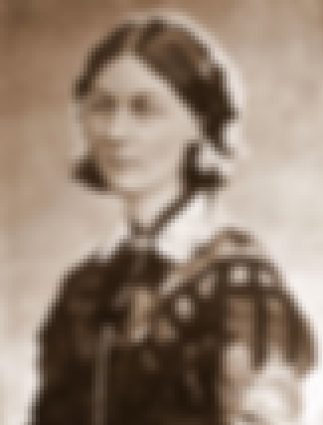 Florence Nightingale is listed (or ranked) 1 on the list List of Famous Statisticians
