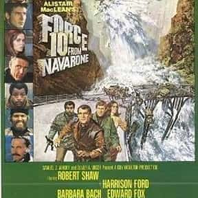 Force 10 from Navarone is listed (or ranked) 15 on the list The Best PG War Movies