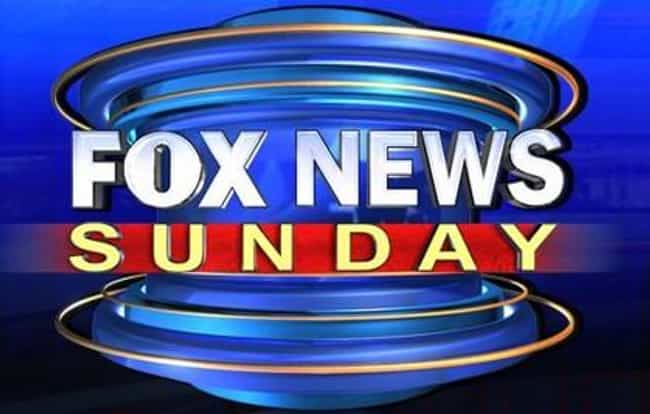 Fox News Sunday is listed (or ranked) 3 on the list The Best Sunday Morning Shows