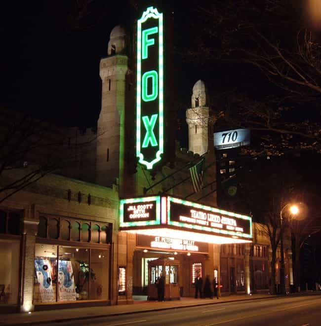 Fox Theatre is listed (or ranked) 4 on the list Famous Moorish architecture buildings