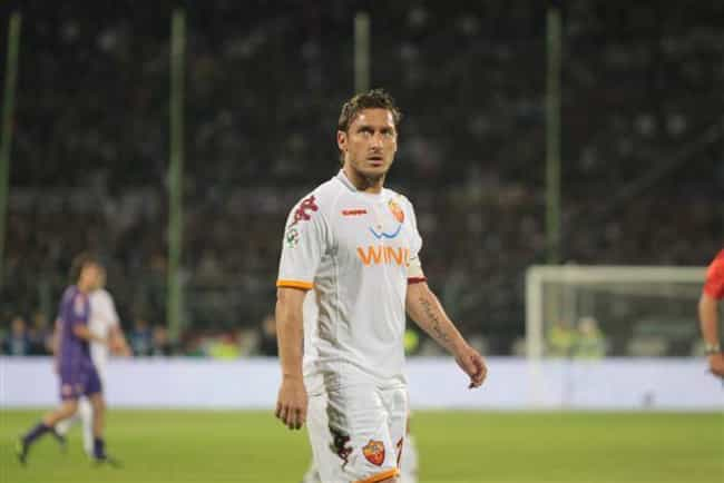 Francesco Totti is listed (or ranked) 3 on the list The Hottest Professional Athletes (Male)