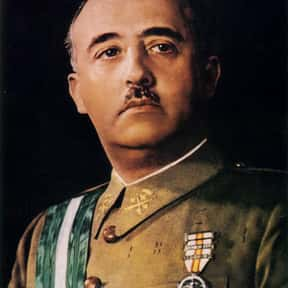 Francisco Franco is listed (or ranked) 16 on the list List of Famous Dictators