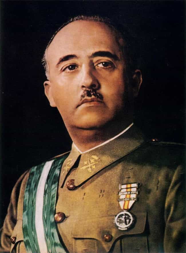 Francisco Franco is listed (or ranked) 8 on the list 22 Celebrities with One or Fewer Testes