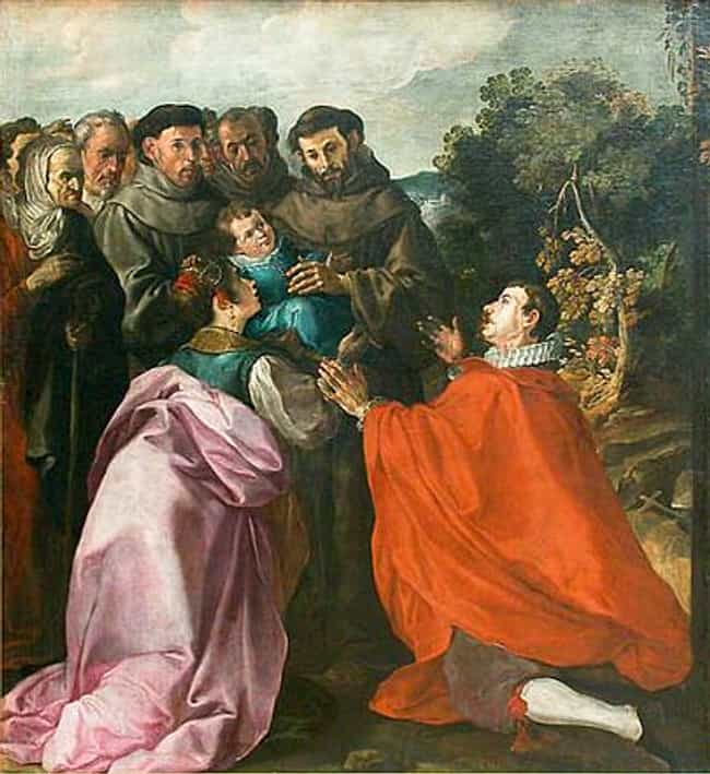 Francisco Herrera the Elder is listed (or ranked) 4 on the list Famous Painters from Spain