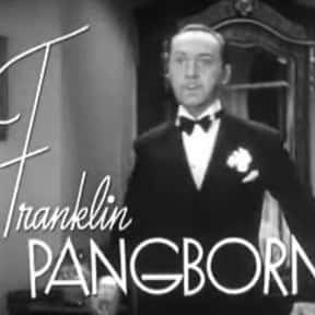 Franklin Pangborn is listed (or ranked) 7 on the list Stage Door Cast List