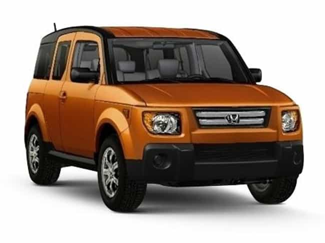 2007 Honda Element is listed (or ranked) 5 on the list The Best Honda Elements of All Time