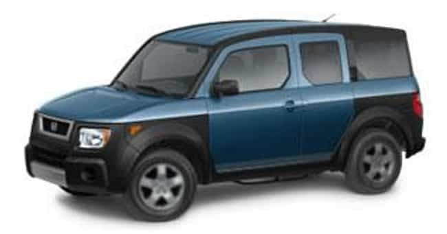 2006 Honda Element is listed (or ranked) 1 on the list The Best Honda Elements of All Time