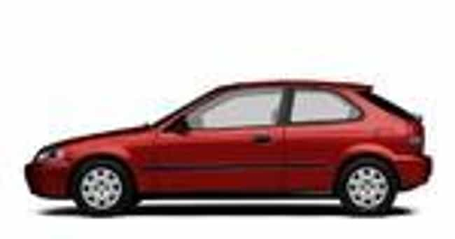 1998 Honda Civic Hatchback Is Listed Or Ranked 5 On The List Of