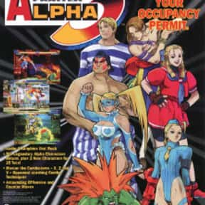 Street Fighter Alpha 3 is listed (or ranked) 13 on the list The Best Sega Saturn Fighting Games