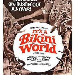 It's a Bikini World is listed (or ranked) 13 on the list The Best '60s Beach Movies