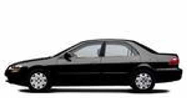 1999 Honda Accord Sedan ... is listed (or ranked) 2 on the list The Best Honda Accords of All Time