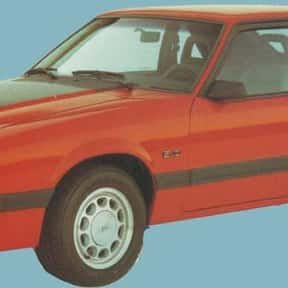 1985 Ford Mustang Hatchback is listed (or ranked) 10 on the list List of Popular Hatchbacks
