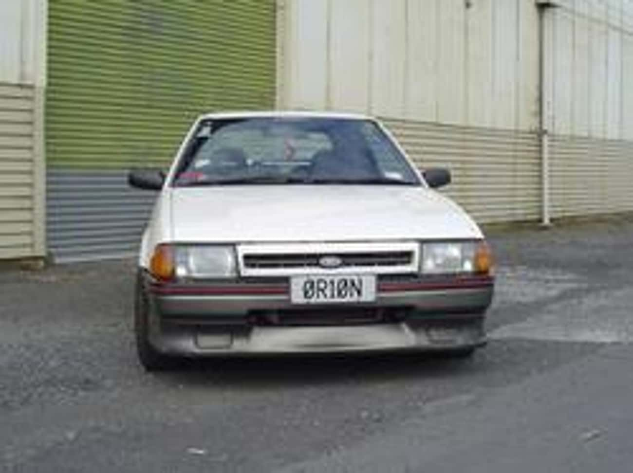 1985 Ford Laser is listed (or ranked) 1 on the list List of Popular Ford Lasers