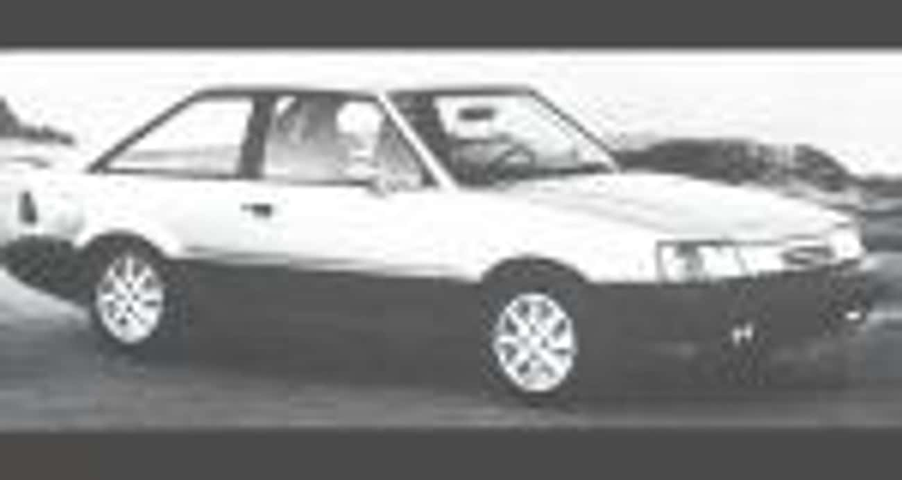 1986 Ford Escort Hatchback is listed (or ranked) 3 on the list List of Popular Ford Escorts