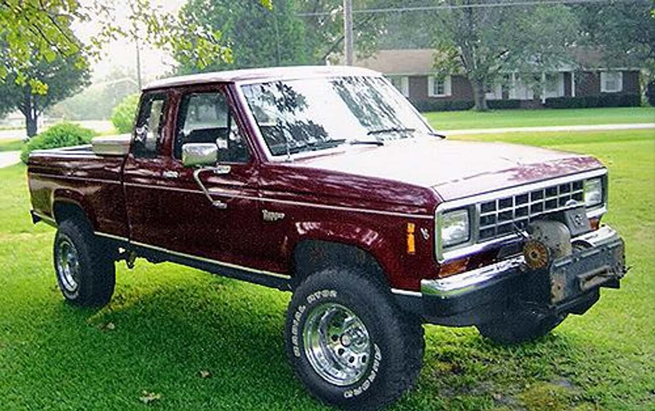 1986 Ford Ranger Pickup Cab Chassis