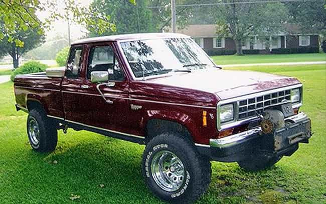 1986 Ford Ranger Pickup ... is listed (or ranked) 3 on the list The Best Ford Rangers of All Time