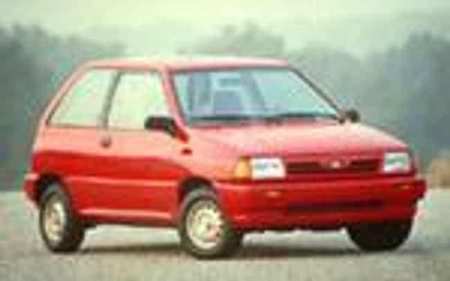 1991 Ford Festiva Coupe