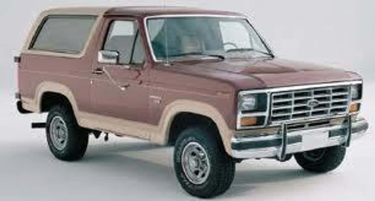 1985 Ford Bronco is listed (or ranked) 1 on the list List of 1985 Fords