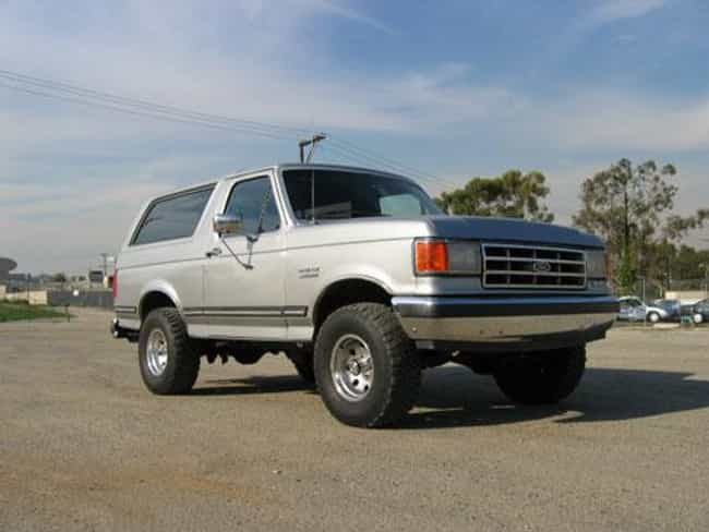 1986 Ford Bronco is listed (or ranked) 3 on the list List of 1986 Fords