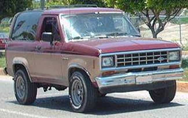 1985 Ford Bronco II is listed (or ranked) 2 on the list List of Popular Ford SUV 4WDs