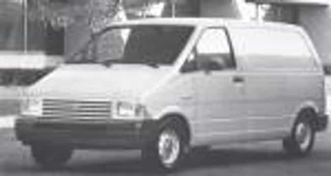 1986 Ford Aerostar Van is listed (or ranked) 2 on the list List of 1986 Fords