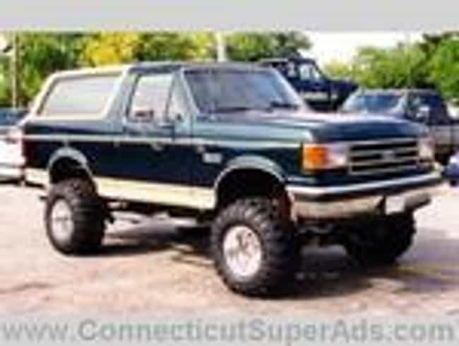 1990 Ford Bronco is listed (or ranked) 3 on the list The Best Ford Broncos of All Time