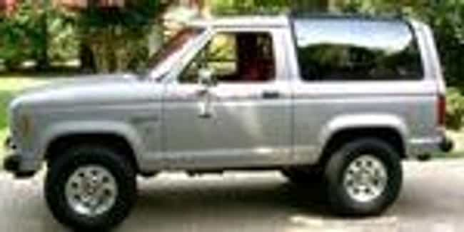 1990 Ford Bronco II SUV ... is listed (or ranked) 7 on the list List of 1990 Fords