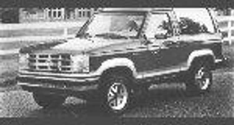 1989 Ford Bronco II SUV 4WD