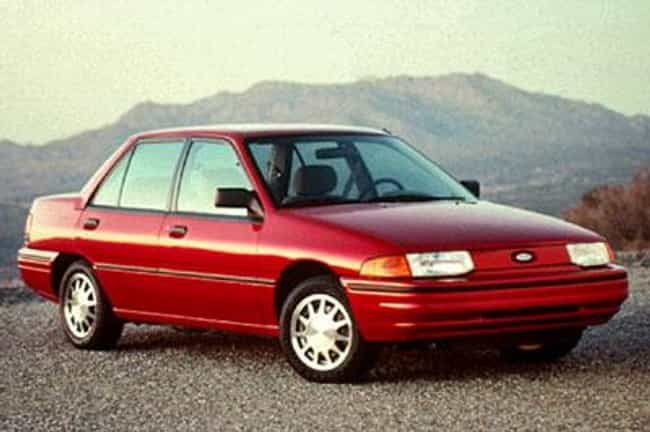 1992 Ford Escort Station Wagon is listed (or ranked) 3 on the list The Best Ford Escorts of All Time