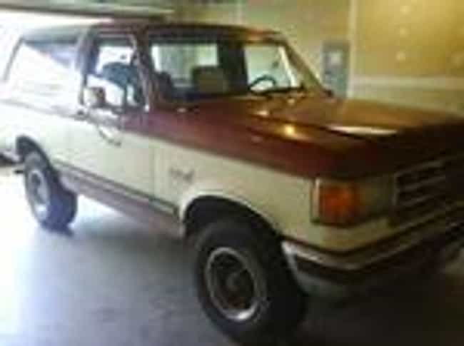 1987 Ford Bronco is listed (or ranked) 3 on the list List of Popular Ford Broncos