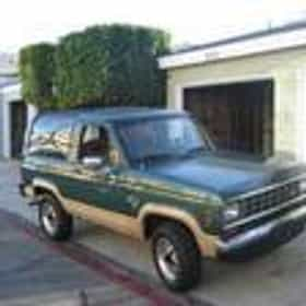 1987 Ford Bronco II SUV 4WD