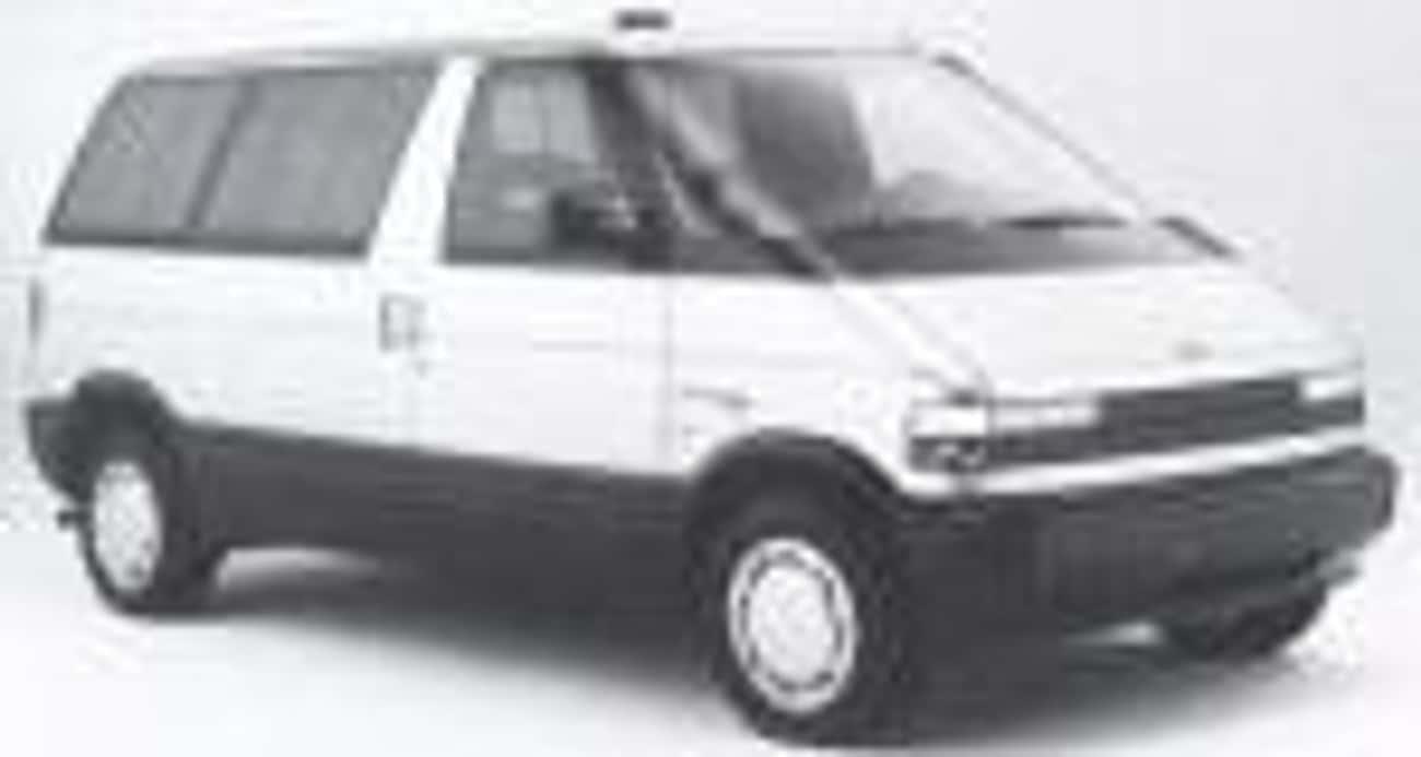 1988 Ford Aerostar Minivan is listed (or ranked) 2 on the list List of Popular Ford Minivans