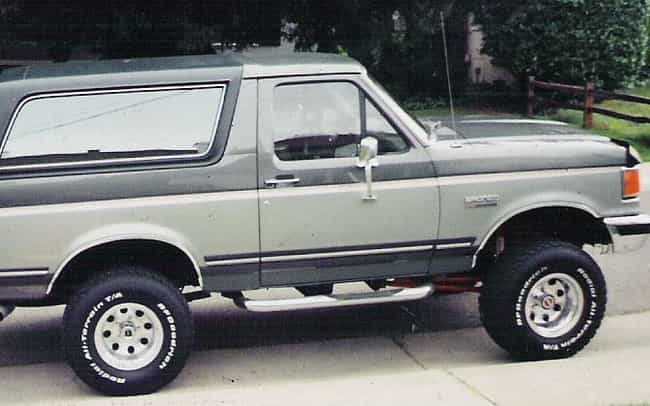 1988 Ford Bronco is listed (or ranked) 4 on the list List of Popular Ford Broncos