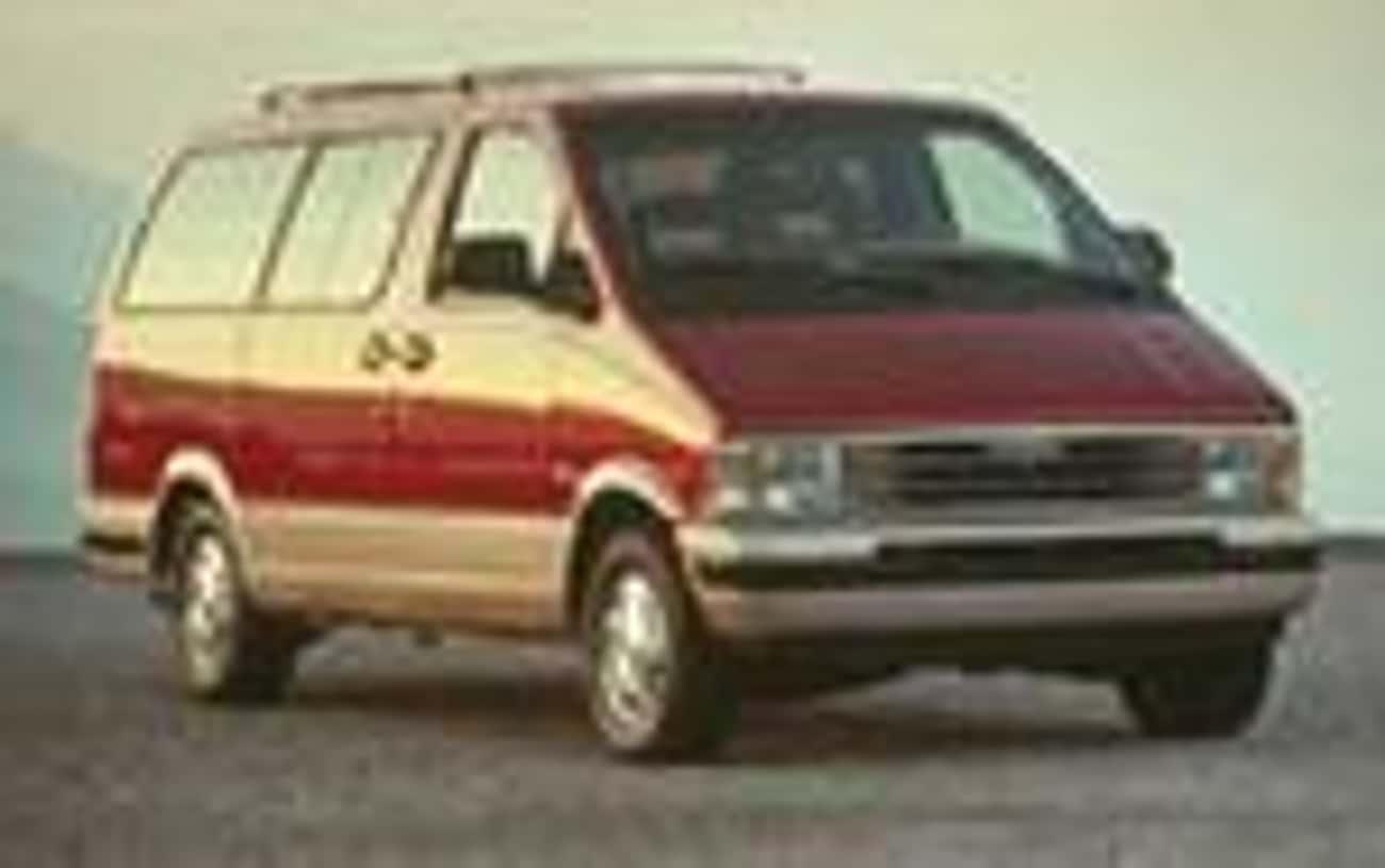 1992 Ford Aerostar Minivan is listed (or ranked) 4 on the list List of Popular Ford Minivans