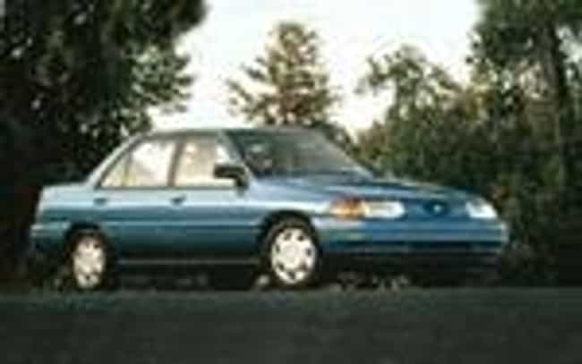 1995 Ford Escort Sedan ... is listed (or ranked) 7 on the list The Best Ford Escorts of All Time