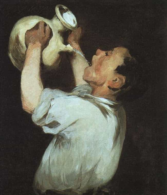 Boy with Pitcher (La Régalade) is listed (or ranked) 3 on the list List of Famous Douard Manet Artwork