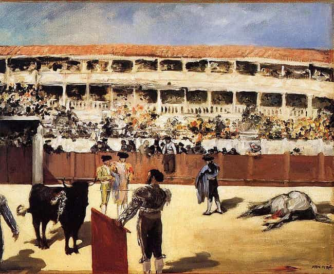 Bullfight is listed (or ranked) 2 on the list Famous Bullfighting Art
