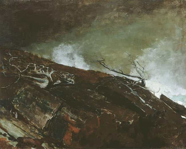 Coast of Maine is listed (or ranked) 4 on the list Famous Winslow Homer Paintings