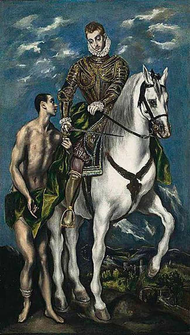Saint Martin and the Beg... is listed (or ranked) 2 on the list Famous Spanish Renaissance Paintings