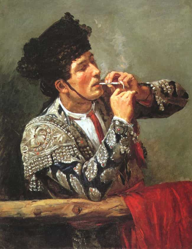 After the Bullfight is listed (or ranked) 1 on the list Famous Bullfighting Art