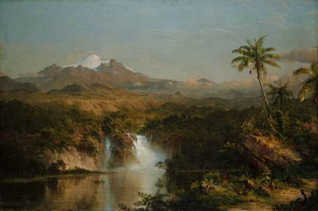Famous Hudson River School Landscape Arts List Of Popular Hudson