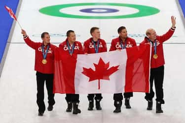 Ben Hebert is listed (or ranked) 2 on the list Famous Curlers from Canada