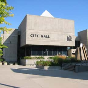 Brantford City Hall is listed (or ranked) 21 on the list Famous Brutalist Architecture Buildings