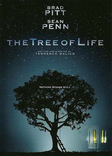 The Tree of Life is listed (or ranked) 2 on the list The Most Pretentious Movies Ever Made