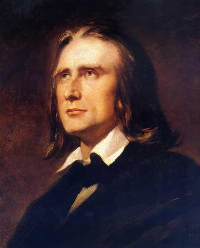 Franz Liszt is listed (or ranked) 1 on the list Famous Male Virtuosos