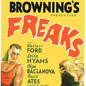Freaks is listed (or ranked) 3 on the list The Scariest Horror Movies With Twins