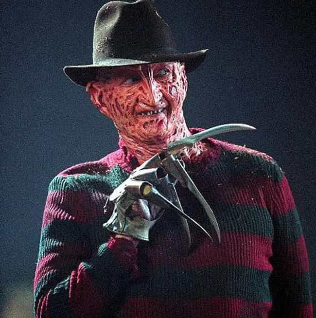 Freddy Krueger is listed (or ranked) 3 on the list The Most Utterly Terrifying Figures in Horror Films